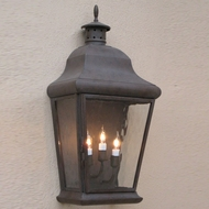 Lighting Innovations WB5954 Outdoor 12  Wide x 26.5  Tall Wall Light Sconce