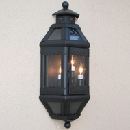 Lighting Innovations WB9032 Exterior 9 Wide x 21 Tall Wall Mounted Lamp