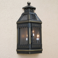 Lighting Innovations WBF9017 Exterior 11.6 Wide x 21.9 Tall Wall Sconce Lighting