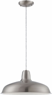 Lite Source 19737PS Jerrick Modern Polished Steel Finish 74  Tall Pendant Lighting Fixture