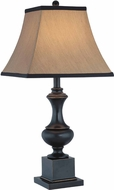 Lite Source C41151 Bandele Dark Bronze Finish 27.5  Tall Table Top Lamp