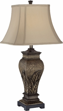 Lite Source C41225 Paulette Traditional Aged Silver Finish 31  Tall Lighting Table Lamp