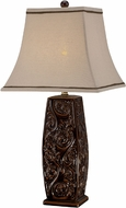Lite Source C41282 Natalii Coffee Finish 30.5  Tall Table Top Lamp