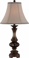 Lite Source C41320 Bishop Dark Bronze Finish 16  Wide Table Lamp