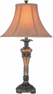 Lite Source C4308 Muir Traditional Oil-Rubbed Bronze Finish 16  Wide Table Lighting