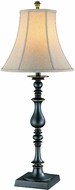 Lite Source C4376 Stick Traditional Dark Bronze Finish 33  Tall Table Top Lamp