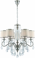 Lite Source C71311 Valentine Chrome Chandelier