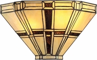 Lite Source C71392-W Mircea Tiffany Dark Bronze Wall Sconce
