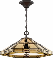 Lite Source C71394 Mircea Tiffany Dark Bronze Pendant Light