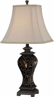 Lite Source CF41272 Absolon Traditional Dark Bronze Finish 15  Wide Table Lamp