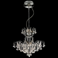 Lite Source EL-10107 Epiphany Chrome Finish 22.5  Wide Halogen Chandelier Lighting