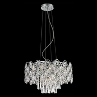 Lite Source EL-10109 Cashlin Chrome Finish 99  Tall Halogen Pendant Lighting
