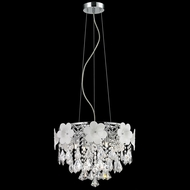 Lite Source EL-10112 Daisy II Chrome Finish 91  Tall Halogen Pendant Light