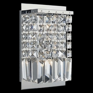 Lite Source EL-10115 Helanie Chrome Finish 9  Tall Halogen Wall Light