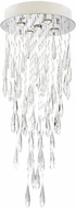Lite Source EL-10165 Lorelle Chrome LED Chandelier Light