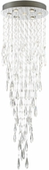 Lite Source EL-10166 Lorelle Chrome LED Chandelier Lighting