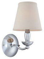Lite Source LS-13991C Althea Contemporary Chrome Finish 7.5  Wide Wall Lamp