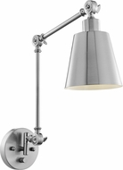 Lite Source LS-16146BN Norco Modern Brushed Nickel Wall Swing Arm Light
