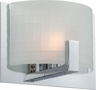 Lite Source LS-16361 Waldron Contemporary Chrome Finish 6 Tall Halogen Wall Lamp