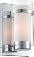 Lite Source LS-16366 Tullio Contemporary Chrome Finish 10  Tall Wall Lighting