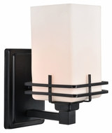 Lite Source LS-16382 Delores Black 9.5  Tall Wall Sconce