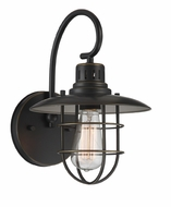 Lite Source LS-16456D-BRZ Lanterna II Vintage Dark Bronze Sconce Lighting