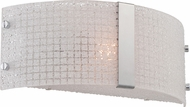 Lite Source LS-16512 Maso Modern Chrome Finish 12  Wide Light Sconce