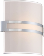 Lite Source LS-16572 Galena Contemporary Chrome LED Sconce Lighting