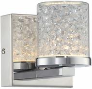 Lite Source LS-16581 Kristen Chrome LED Lighting Sconce
