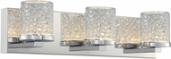 Lite Source LS-16583 Kristen Chrome LED 3-Light Bath Lighting Fixture