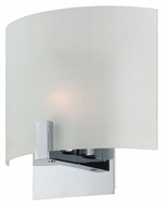 Lite Source LS-16646 Claire Modern Chrome Finish 8  Tall Sconce Lighting