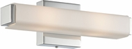 Lite Source LS-16706 Braulio Modern Chrome LED 14  Bathroom Light Fixture