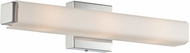 Lite Source LS-16707 Braulio Contemporary Chrome LED 20  Bathroom Vanity Lighting