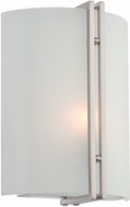 Lite Source LS-16808 Madoc Contemporary Polished Steel Wall Sconce Lighting