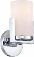 Lite Source LS-16811 Caesarea Modern Chrome Wall Mounted Lamp
