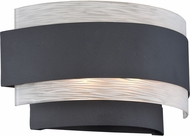 Lite Source LS-16836 Gaetano Modern Black Halogen Light Sconce