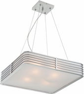 Lite Source LS-18174 Contemporary Silver Pendant Lamp