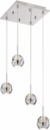 Lite Source LS-18194 Chrome LED Multi Hanging Light