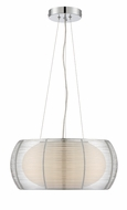 Lite Source LS-18767 Lanelle Modern Chrome Hanging Light