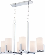 Lite Source LS-18811 Caesarea Modern Chrome Island Lighting