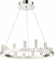 Lite Source LS-19221 Elina Chrome LED Chandelier Light