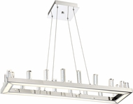 Lite Source LS-19222 Elina Chrome LED Island Light Fixture