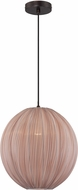 Lite Source LS-19791 Kaden Contemporary Copper Bronze Ceiling Light Pendant