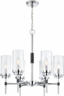 Lite Source LS-19816 Quintana Modern Chrome Chandelier Light
