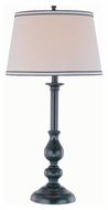 Lite Source LS-21577 Blaise Black 30.5  Tall Table Lamp Lighting