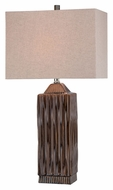 Lite Source LS-21619 Ashby Brown Modern 29.5  Tall Table Light