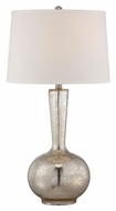 Lite Source LS-22144 Rilla Contemporary Clear Glass 16.5  Wide Lighting Table Lamp