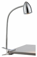Lite Source LS-22325C Niko Chrome 19  Tall Contemporary Reading Lamp