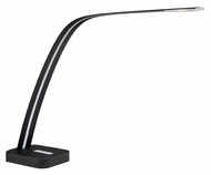 Lite Source LS-22332 Kyla Contemporary Matte Black Finish 24  Wide LED Desktop Lamp
