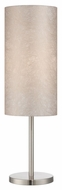 Lite Source LS-22334 Secia Polished Steel 26 Tall Table Lighting